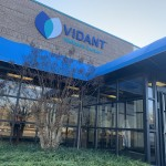 Vidant_Ahoskie_2019_1 This is a Convex merged with a Round Marquee, with vinyl fabric.