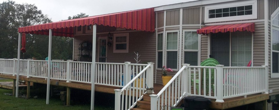 Permanent Awning w/ Valance
